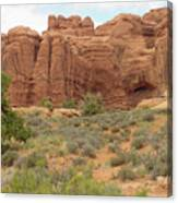 Arches Formation 31 Canvas Print