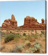 Arches Formation 33 Canvas Print