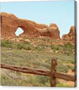 Arches Formation 35 Canvas Print