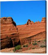 Arches National Park, Utah Usa - Delicate Arch Canvas Print