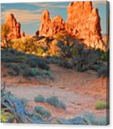 Arches Vista Canvas Print