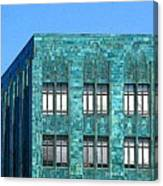 Architectural Abstract Oakland Ca Canvas Print