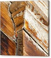 Architectural Detail At Bodie 1 Canvas Print