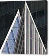 Architectural Detail Midtown Manhattan Canvas Print