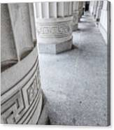 Architectural Pillars Canvas Print
