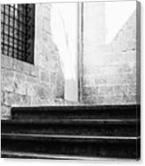 Architectural Stone Stairs Canvas Print