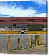 Architectural Study Mare Island Vallejo Ca Canvas Print