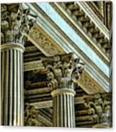 Architecture Columns Palace King Louis Xiv Versailles  Canvas Print