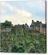 Architecture Edinburgh II Canvas Print