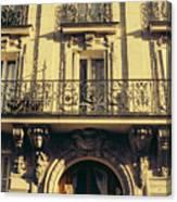 Architecture In Paris Canvas Print