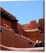 Architecture In Santa Fe Canvas Print