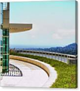 Architecture View Getty Los Angeles  Canvas Print