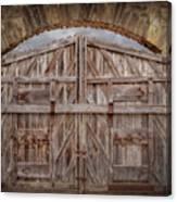Archway Gate Canvas Print