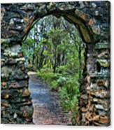 Archway To The Forest Canvas Print