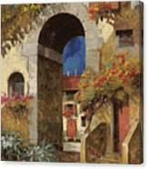 Arco Al Buio Canvas Print