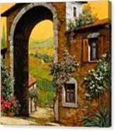 Arco Di Paese Canvas Print