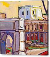 Arco Di Romano Canvas Print