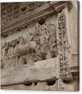 Arco Di Tito Relief Canvas Print