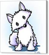 Arctic Fox Canvas Print