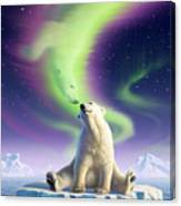 Arctic Kiss Canvas Print