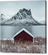Arctic Landscape In Northern Norway, Senja Canvas Print