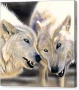 Arctic Pair Canvas Print