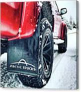 Arctic Trucks Canvas Print