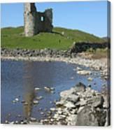 Ardvreck Castle Scotland Canvas Print