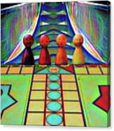 Are You Game Canvas Print
