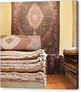 Area Rugs In A Store Canvas Print