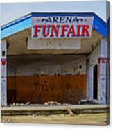 Arena Funfair. Canvas Print