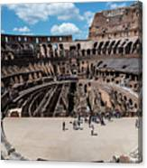 Arena Of Death And Glory Canvas Print