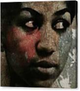 Aretha Franklin - Tribute Canvas Print