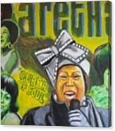 Aretha Canvas Print