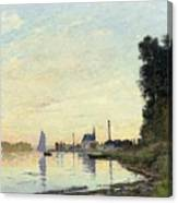 Argenteuil, Late Afternoon Canvas Print