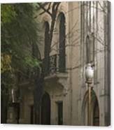 Argentinian Street Lamp Canvas Print