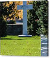 Argonne Cross Memorial Canvas Print