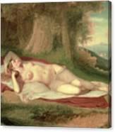Ariadne Asleep On The Island Of Naxos Canvas Print