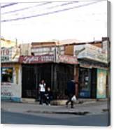 Arica Chile Street Corner Canvas Print