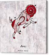 Aries Artwork Canvas Print