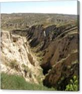 Arikaree Breaks Canyon Canvas Print