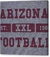 Arizona Cardinals Retro Shirt Canvas Print