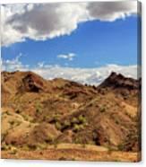 Arizona Hills Canvas Print