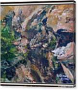 Arizona River Mountains Canvas Print