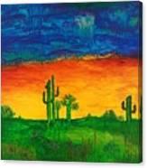 Arizona Rain Canvas Print