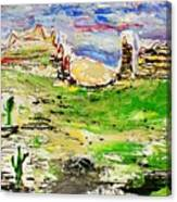 Arizona Skies Canvas Print