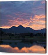 Arizona Sunset 2 Canvas Print