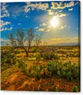 Arizona Sunset 28 Canvas Print