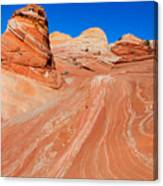 Arizona-utah- North Coyote Buttesthe Wave Canvas Print