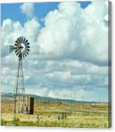 Arizona Windmill Canvas Print